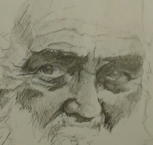 Js Roosenys - portrait de Walther Marcel